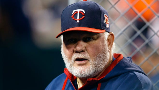 Twins manager Ron Gardenhire on Sept. 25.