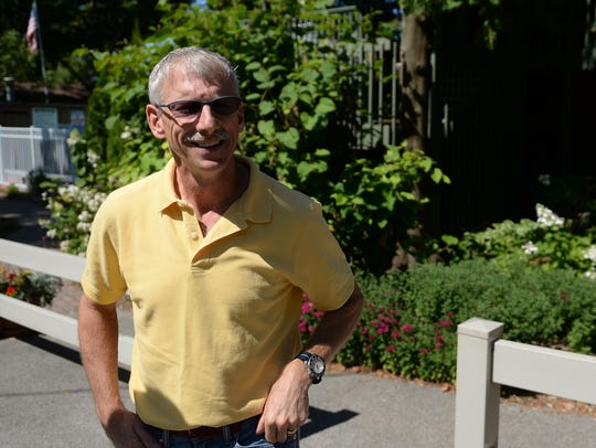 Bob Dickson, co-owner of The Shallows Resort in Egg