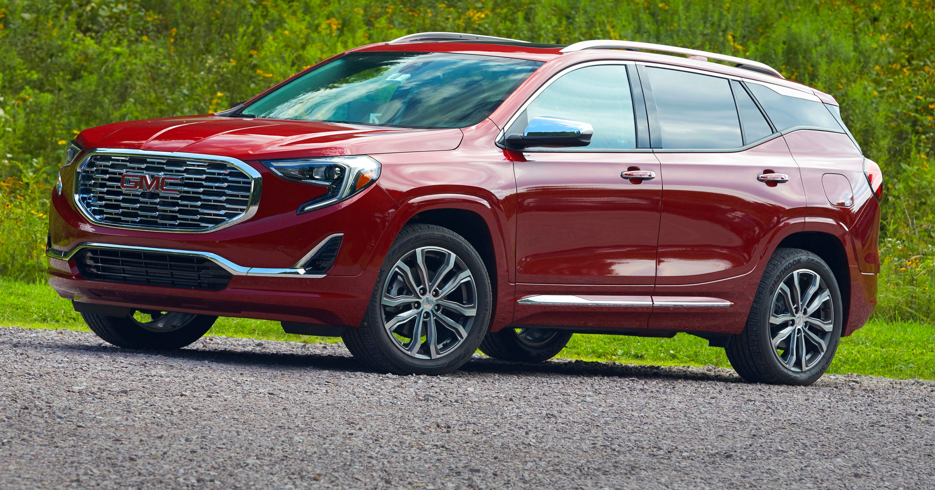 Review Gmc Terrain Denali Impresses With Luxury Touches
