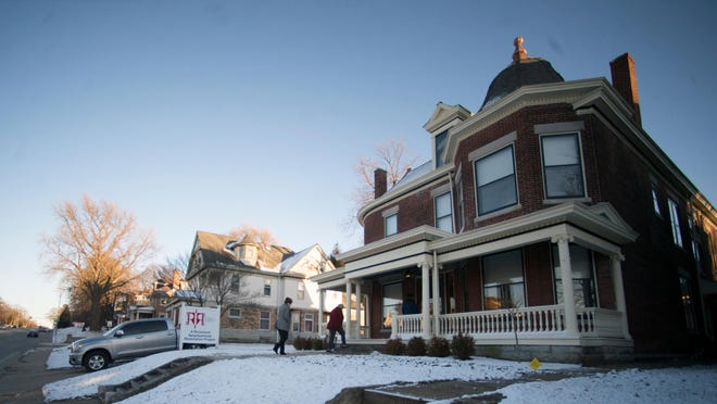 More than 150 people visited the McGuire House, 1903 E. Main St., during the property's open house Thursday.