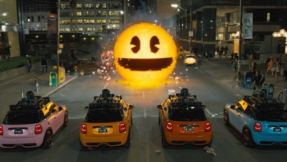 """Fun references can only take a movie like """"Pixels"""" so far."""