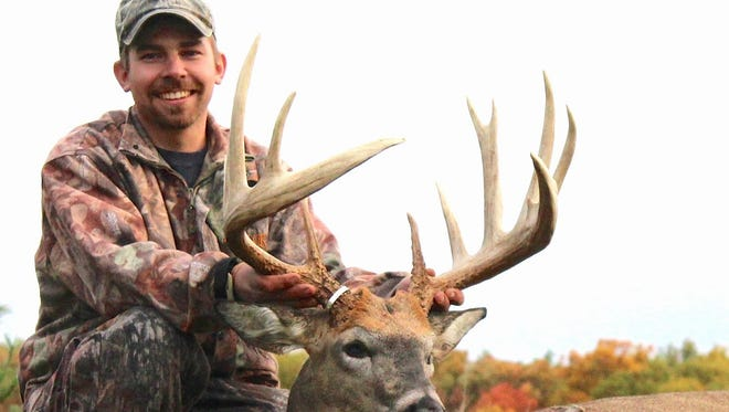 Adam Hupf's state record archery buck was one of the more than 300,000 whitetails registered in Wisconsin last year. The vertical bow harvest or more than 54,000 doubled that of crossbows. Combined, more than 81,000 deer were shot with broadhead-tipped arrows and bolts, more than 46,000 of them antlered bucks.