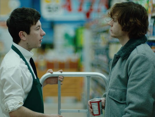 "Barry Keoghan (left) and Evan Peters star in ""American"
