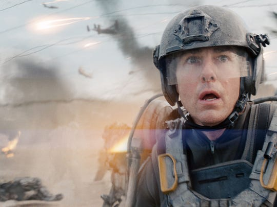 "Tom Cruise in ""Edge of Tomorrow."""