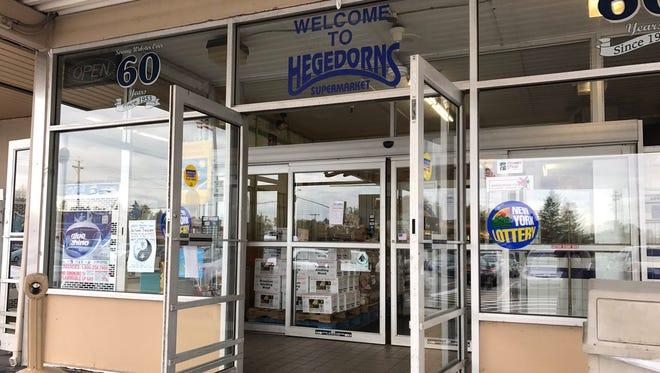 Hegedorn's Market in Webster.