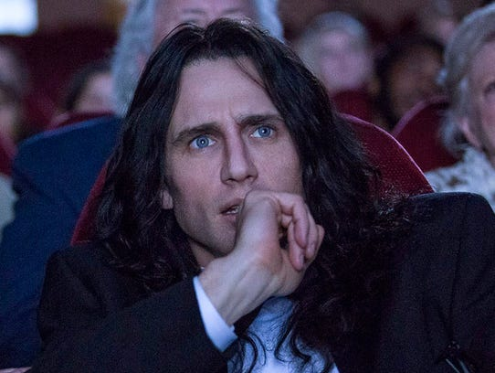 James Franco, who won at the Golden Globes for 'The Disaster Artist,' missed the cut for the best-actor list.