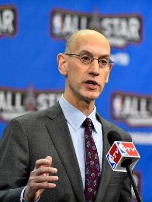 NBA commissioner Adam Silver and the owners and the players union both have options to pull out of the CBA after this season.