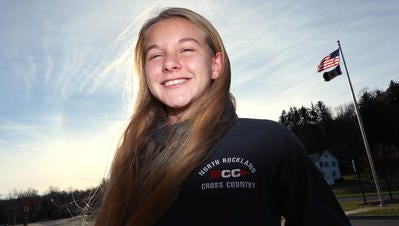 North Rockland freshman set a new Rockland girls track record at 3,000 meters Saturday.