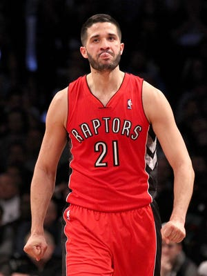 Raptors guard Greivis Vasquez was a key reserve for the surprising Atlantic Division champions.