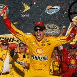 Joey Logano captures win in frenzied finish at Phoenix
