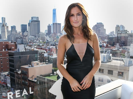 Minka Kelly at The New Museum on July 26, 2017 in New
