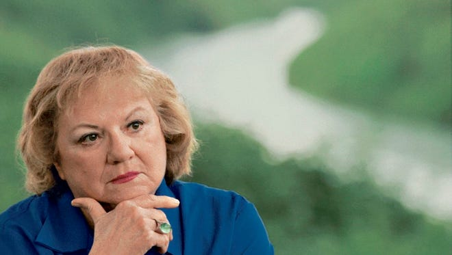 A 2004 photo of true-crime author Ann Rule, who died on Sunday.