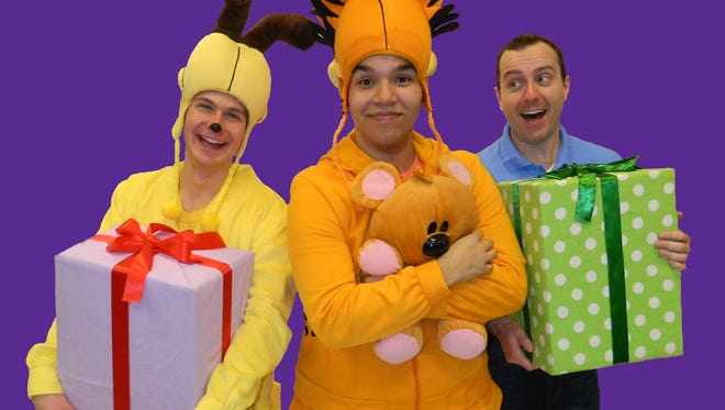 Jacob Schrimpf, Rafael Martinez-Salgado and Connor McAndrews in 'Garfield: The Musical with Cattitude.'