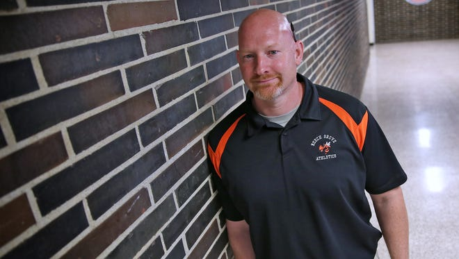 Matt English, athletic director and basketball coach at Beech Grove, is battling brain cancer for the second time.