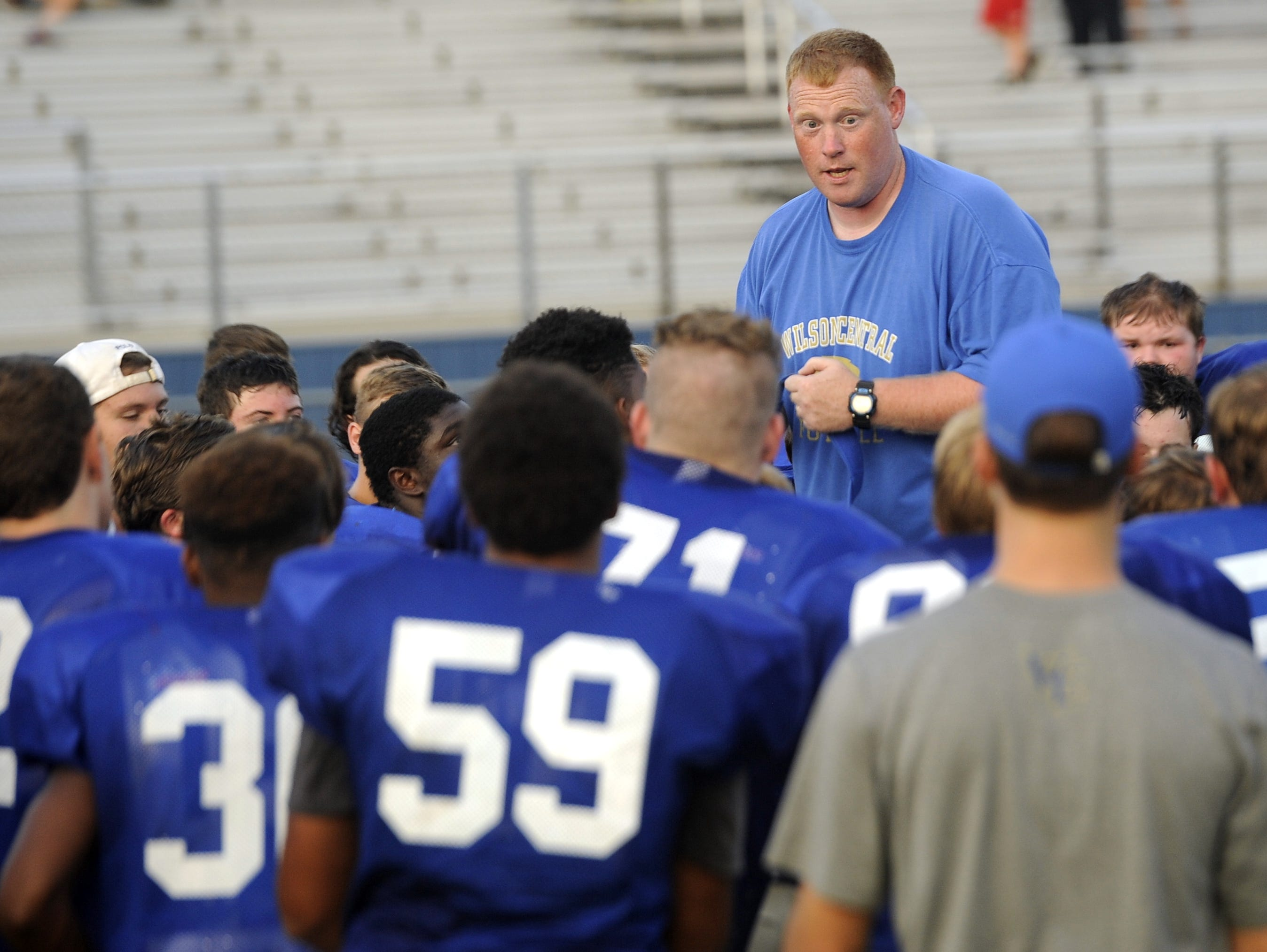 Coach Brad Dedman and Wilson Central have jumped out to a 5-0 start.