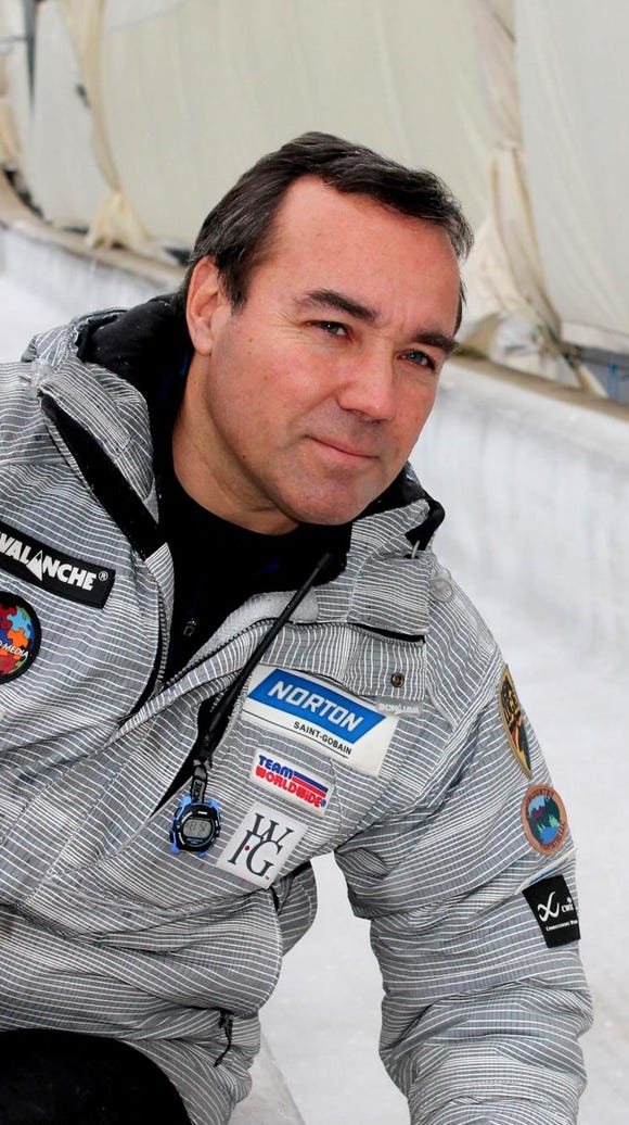 Fred Zimny of Boonton has been a USA Luge youth coach