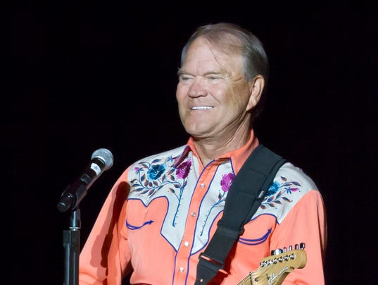 AP MUSIC GLEN CAMPBELL A FILE ENT USA AR