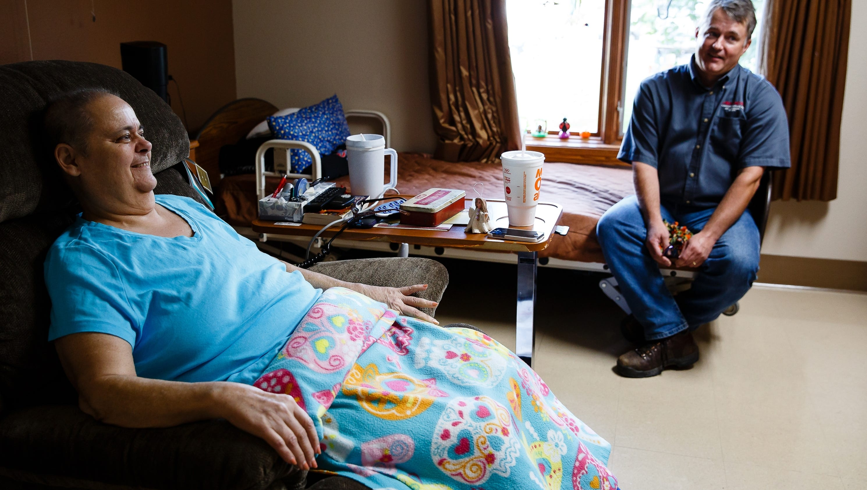 Dating a man whose wife is terminally ill