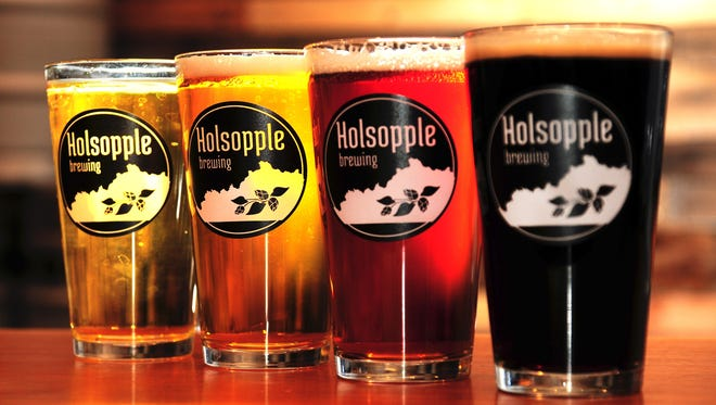 Holsopple Brewing is located in Lyndon, east of Louisville.