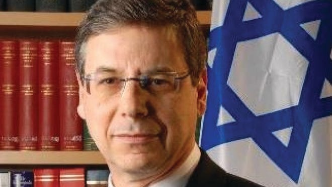 """Danny Ayalon, a former Israeli ambassador, will receive the Rockland JCC's first """"Pursuit of Justice Award"""" on March 23, 2014, for advocating a minute of silence at the 2012 Summer Olympics in memory of the 11 Israeli athletes murdered by Arab terrorists at the 1972 games in Berlin. Ayalon, a career diplomat and politician, is the Rennert Visiting Professor of Foreign Policy Studies at Yeshiva University. He founded a nonprofit organization, The Truth About Israel."""