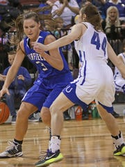 Former Fairfield star Natalie Klinker is now a starter at the University of Idaho.
