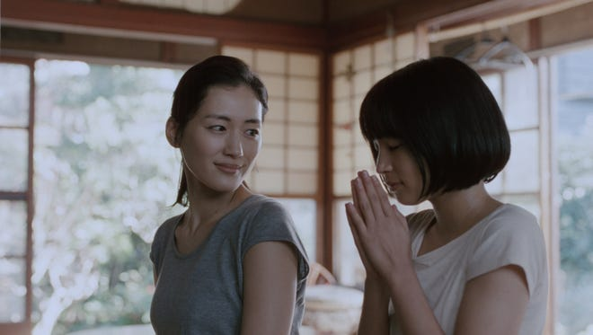 "Haruka Ayase (left) and Suzu Hirose star in ""Our Little Sister."""