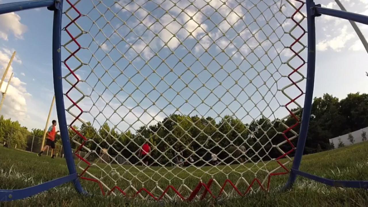 WATCH: Old Bridge tchoukball team