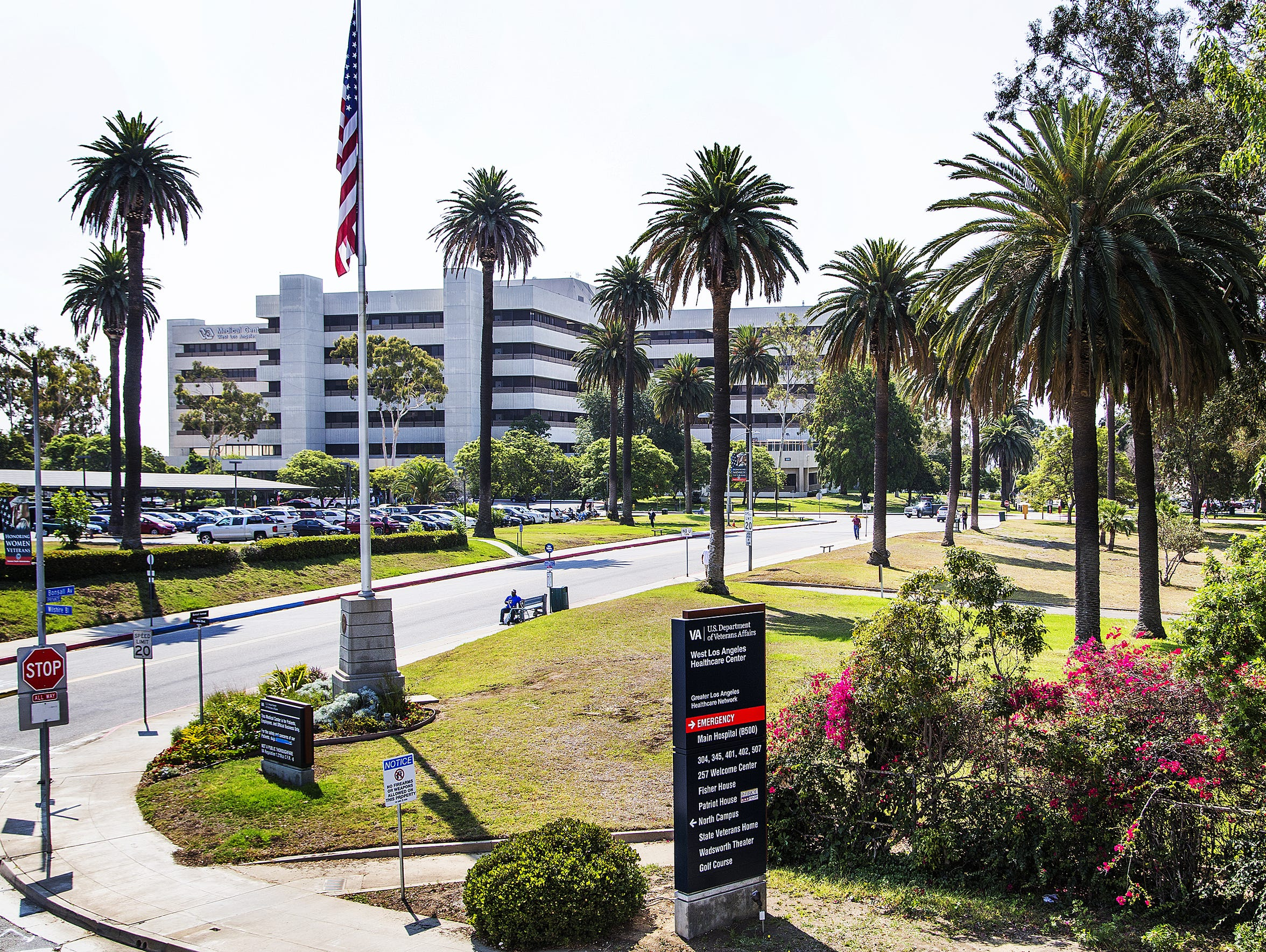 The VA West Los Angeles Medical Center.