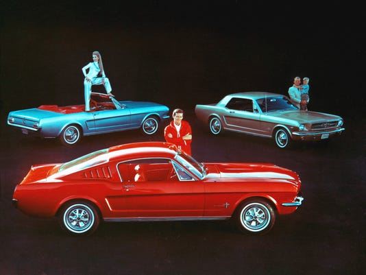 Photo gallery, timeline: 50 years of Ford Mustangs