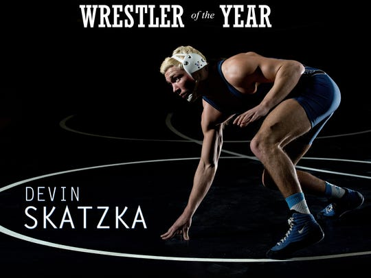 Richmond senior Devin Skatzka, a four-time individual state champion, is the Times Herald Wrestler of the Year.