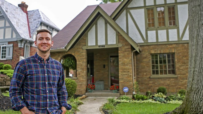 Sam Walston and his newly purchased home in Kennedy Heights. Millennials are the largest group of recent homebuyers. They agree that America is great, one writer says, but they don't appreciate corporate greed or expensive, failed wars.