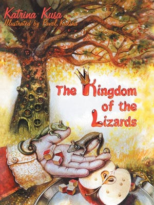 """The Kingdom of the Lizards"" is the first children's fiction short story published by 13-year-old Katrina Kusa."