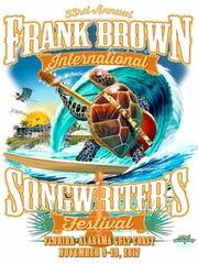The Frank Brown International Songwriters Festival is being held Nov. 9-19, 2017.