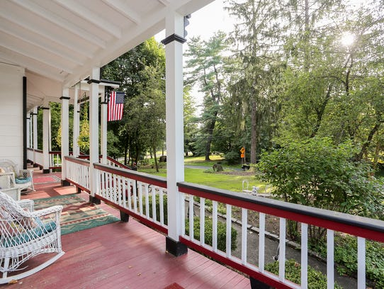 . The Brown-Eells House, dating back to 1835, is a