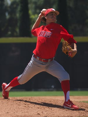 Dixie State's Dylan File was drafted by the Milwaukee Brewers on Wednesday in the 21st round of the Major League Baseball draft.