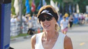 Dana Kramer of Urbandale is one of 174 Iowans entered to run in Monday's Boston Marathon. A total of 36,000 runners are expected to participate.