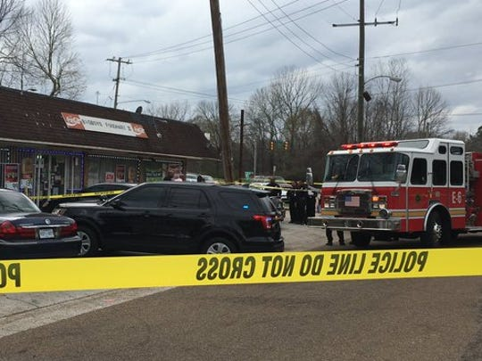Jackson's sixth homicide in four days took place at Big Boy's Food Mart at the intersection of West Capitol and Road of Remembrance.