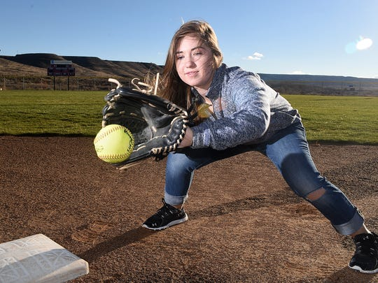 Livia Hensley missed much of last season with the Piedra Vista softball team after an infection ravaged her immune system.