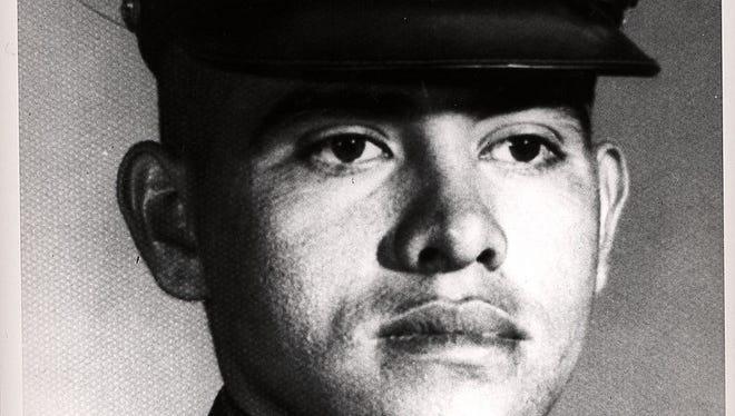 Marine Lance Cpl. Jose F. Jimenez