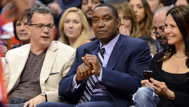 Isiah Thomas is back in basketball... in the WNBA.
