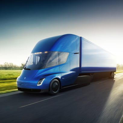 Meijer at 'front of the line' to test Tesla's electric semi truck