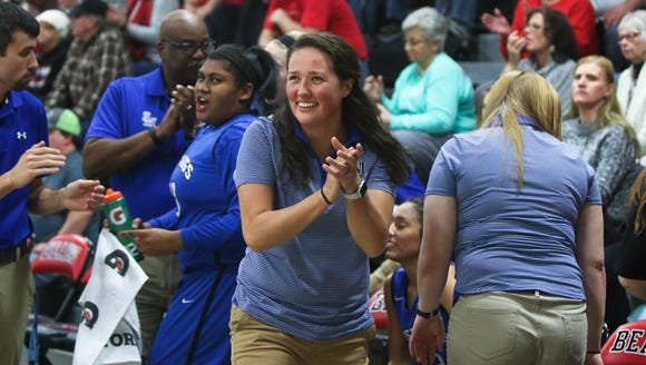 Smoky Mountain girls basketball coach Heather Klipa