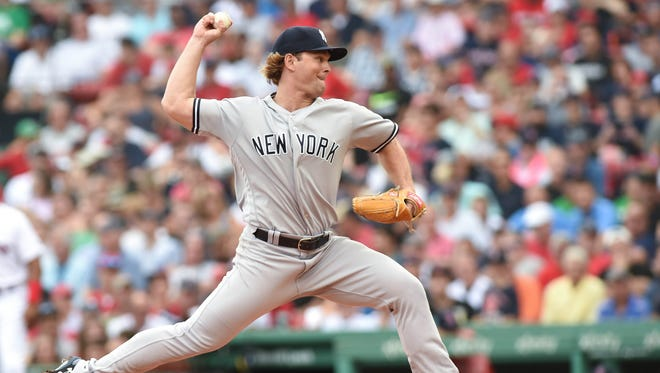 Aug 4, 2018; Boston, MA, USA; New York Yankees pitcher Chance Adams pitches during the first inning against the Boston Red Sox at Fenway Park.