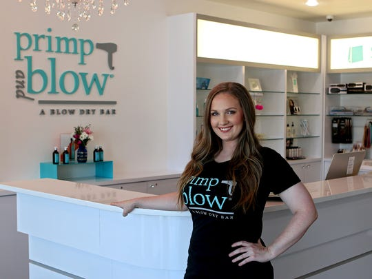 Jessica Edwards, co-owner of Frank & joe's Coffee House, later purchased the Primp and Blow franchise in Parker Square with her mother, Carol Murray.