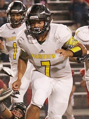 Fairview running back Josh Ortiz ran for 329 yards and 9 TDs in 2016.