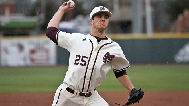 Mississippi State pitcher Dakota Hudson was named second-team All-American by  Division I baseball on Monday.
