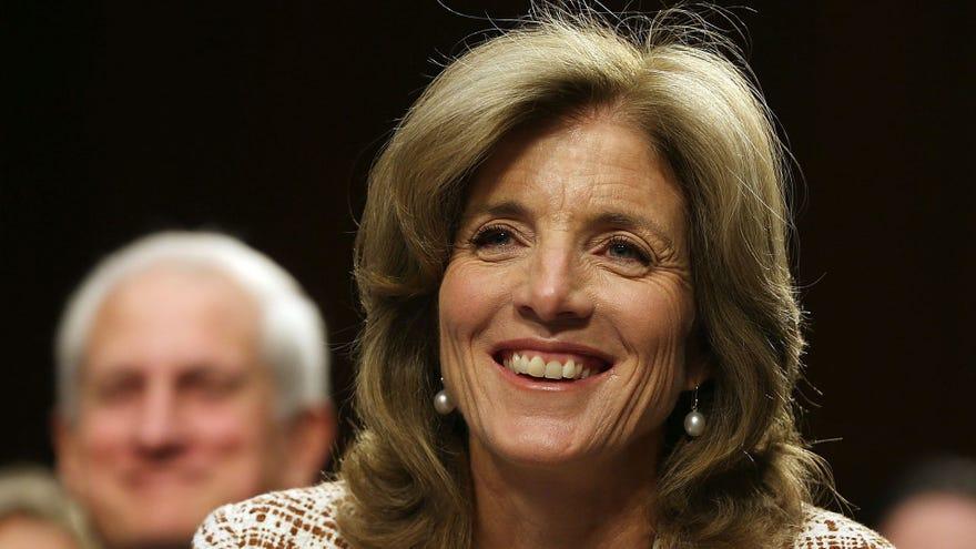 Tokyo welcomes Caroline Kennedy as new ambassador