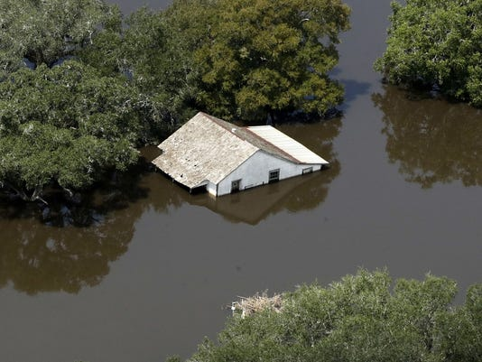 In small town, Harvey 'just a catastrophic citywide event'