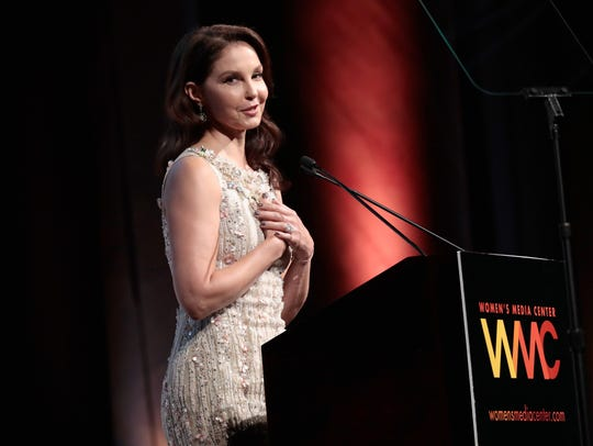 Ashley Judd accepts the WMC Speaking Truth To Power