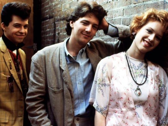 Jon Cryer, Andrew McCarthy, and Molly Ringwald starring